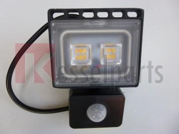 Led buitenlamp 10W WarmWit met bewegingssenor