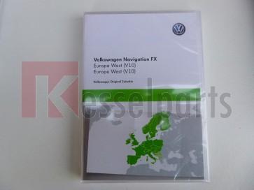 SD-kaart Europa 2018 FX V10 VW RNS 310