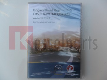 CD 500 Navi Italy/Greece 2012/2013