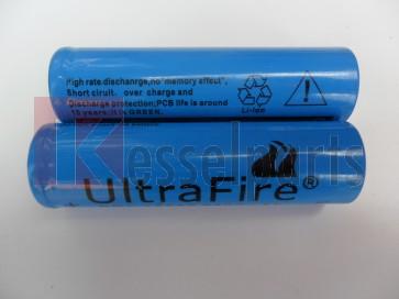 Accu Ultrafire 18650  3800 mAh