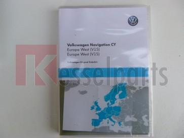 RNS 510 RNS 810 DVD West Europa V15 CY 2018