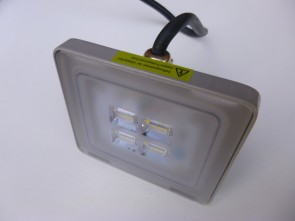 Led buitenlamp 10W Wit
