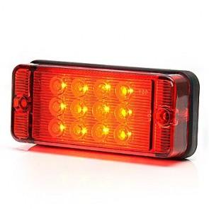 LED mistachterlicht 12/24v E-keur 12 leds KP-700KR