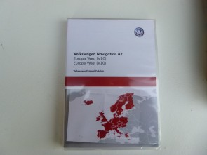SD-kaart West Europa 2018 AZ 10 VW RNS 315