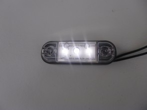 LED toplamp contourlamp wit 3 leds KP-710