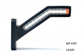 Pendel lamp breedtelamp dynamisch raw remlicht LED KP-1347
