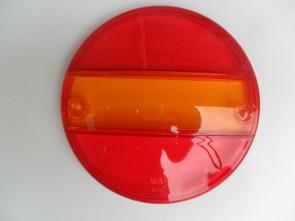 Los glas voor Hamburgerlamp rood/oranje KP-235