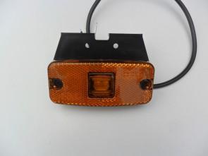 LED zijmarkering oranje/amber 2 leds KP-223