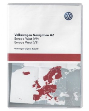 SD-kaart West Europa 2017 AZ V9 VW RNS 315