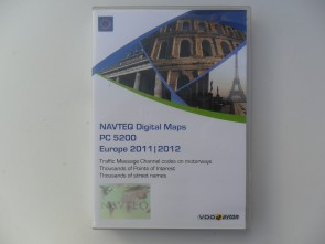 VDO Europa DVD + SD PC/MS 5200 2011/2012