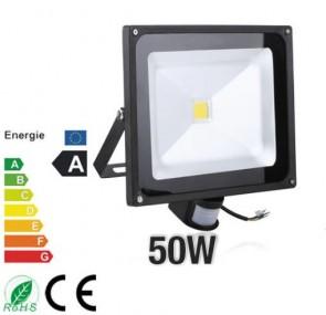 Led buitenlamp 50W WarmWit met bewegingssenor