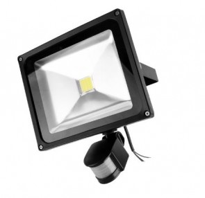 Led buitenlamp 20W WarmWit met bewegingssenor