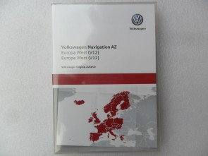 SD-kaart West Europa 2020 AZ V12 VW RNS 315