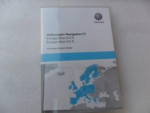 RNS 510 RNS 810 DVD West Europa V17 CY 2020