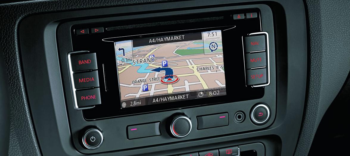 Volkswagen Navigatiesoftware