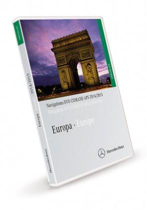 Comand APS Europa DVD NTG1 2014/2015 V15