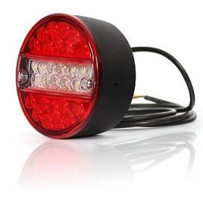 LED combilamp hamburger 140mm 12 of 24 volt KP-273