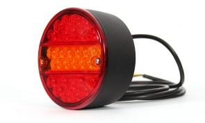 LED achterlicht hamburger 140mm 12/24 volt KP-232
