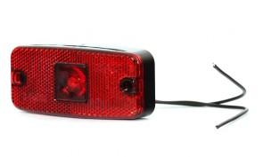 LED achterlicht markering 1 led rood KP-224