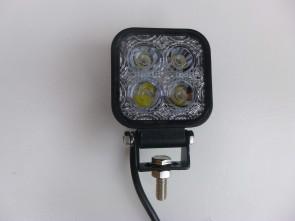 Mini werklamp achteruitrijlamp 12W LED 0.5m kabel KP-12V05